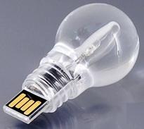 LED lightbulb thumb drive