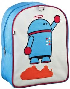 Little Kids Robot Backpack