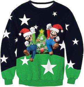 Marion And Luigi Ugly Christmas sweater
