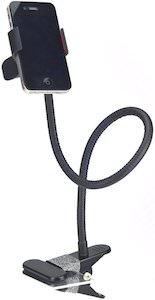 Gooseneck Clip Phone Holder