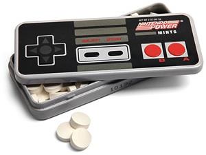 Classic Nintendo NES Controller mints tin