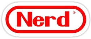 Nerd Logo Sticker