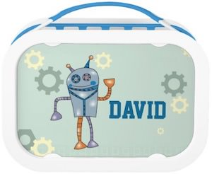 Personalized Robot Lunch Box
