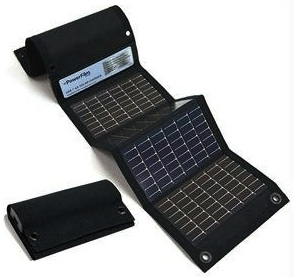Powerfilm USB and AA Charger by solar so the sun