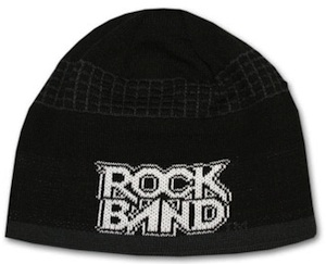 Rock Band Beanie it's cool and warm
