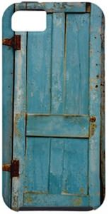 Rustic Door iPhone 5 Case