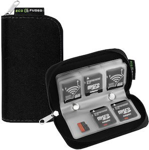 SD Memory Card Carrying Case