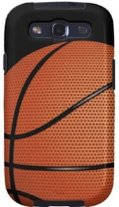 Samsung Galaxy SIII Basketball Case