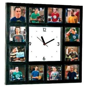 The Big Bang Theory Sheldon Cooper wall Clock
