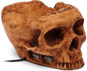4 ports skull hub