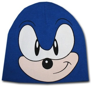 Get your hat on when it cold this winter. Sonic from Sega will keep your warm.