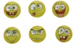 Spongebob Squarepants home button stickers for you iPhone 4s