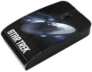 Star Ship Enterprise wireless usb mouse right from the movie