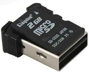World's Smallest MicroSD Card Reader
