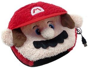Nintendo Mario heated mouse pad