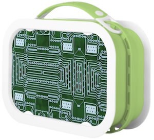Yubo Circuit Board Lunch Box