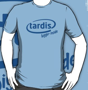 Doctor Who Tardis Bigger Inside T-Shirt