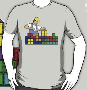Tetris Brick Layer T-Shirt