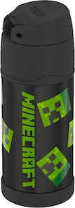 Thermos Minecraft Creeper Water Bottle