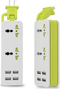 Portable Power Bar With USB Ports