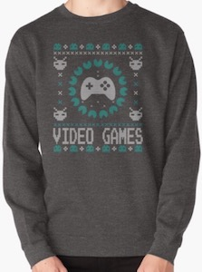 Video Games Christmas Sweater