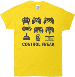 Control freak t-shirt
