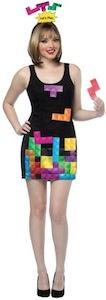 Women's Interactive Tetris Costume Dress
