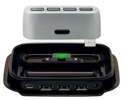 Belkin made a two in one USB HUB that seems great