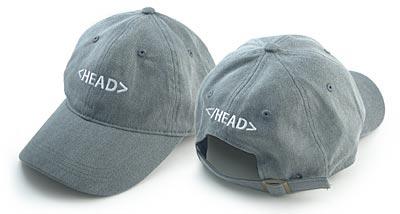 HEAD tag hat
