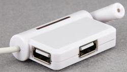USB HUB with microphone
