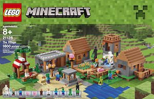 Lego Minecraft The Village Set 21128