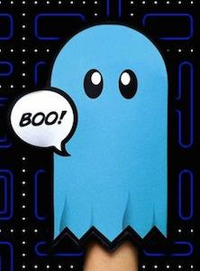 Pac-Man Ghost Oven Mitt