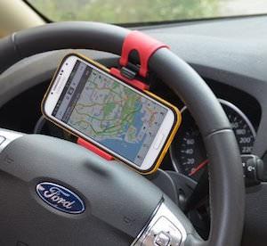 Phone Holder For Your Steering Wheel