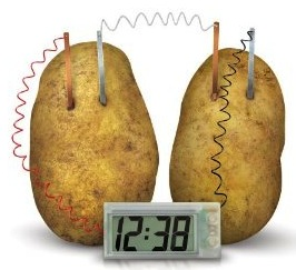build you own potato clock