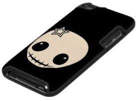 iPod touch 4g skull case by speck