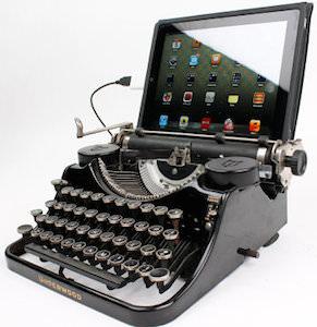 1930's Underwood Typewriter As Keyboard